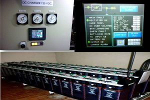 Rectifier Charger 125VDC 200A install at EGAT